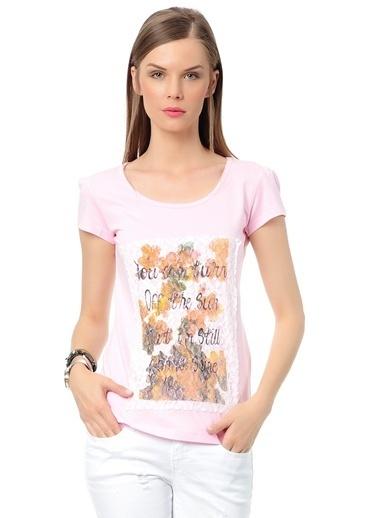 Loox Tişört Pembe